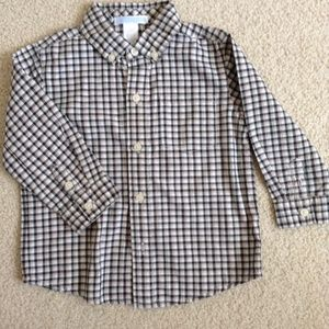 janie and jack plaid dress shirt 18-24m